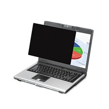 """Wide Black-Out Privacy Frameless Filter for 15.4"""" LCD/Notebook"""