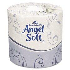 Angel Soft Ps Premium 2-Ply Toilet Paper - 450 Sheets per Roll / 80 Rolls per Carton
