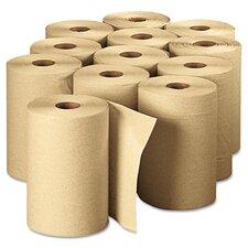 Envision Unperforated 1-Ply Paper Towel - 12 Rolls per Carton