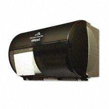 Compact Coreless Double Roll Tissue Dispenser