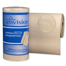 Envision High-Capacity Perforated Kitchen 2-Ply Paper Towels