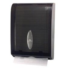 C-Fold / Multifold Towel Dispenser in Translucent Smoke