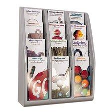 12 Pocket Multi-Tiered Desktop / Wall-Mount Holders