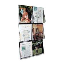 6 Pocket Literature Rack