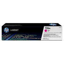 CE313A OEM Toner Cartridge, 1000 Page Yield, Magenta