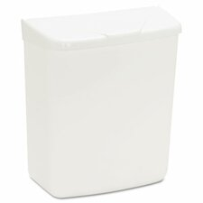 1-Gal Health Gards Convertible Receptacle with Hinged Lid (Set of 2)