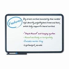 Premium Dry Erase Frame Wall Mounted Whiteboard, 2' x 3'