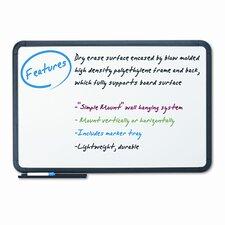 Premium Dry Erase Ingenuity Frame Wall Mounted Whiteboard, 4' x 6'