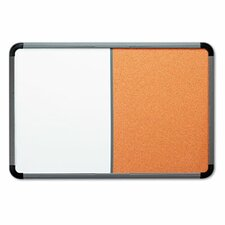 Combo Dry Erase Tack Combination Board, 3' x 4'