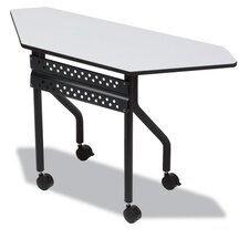 Officeworks Trapezoid Training Table