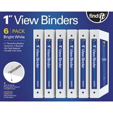 Find It DIY View Binders (6 Pack)