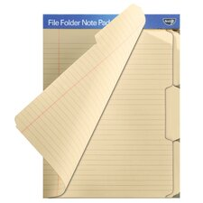 Find It File Folder Note Pad (12 Count) (Set of 2)