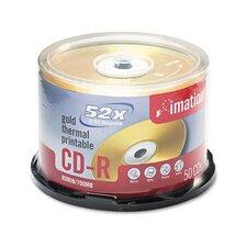 CD-R Disc, 700Mb/80Min, 52X, 50/Pack (Set of 3)