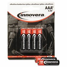 Alkaline Battery, 8/Pack (Set of 3)
