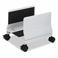 "2.6"" H x 10.55"" W Desk Mobile CPU Stand"