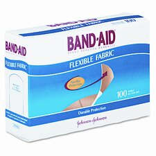 Flexible Fabric Adhesive Bandages,1 x 3, 100 per Box
