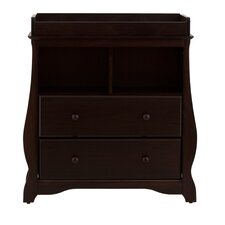Carrara 2 Drawer Changing Table