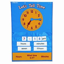 Teaching Time Pocket Chart