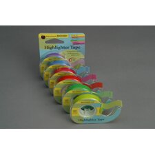 Removable Highlighter Tape Green (Set of 2)