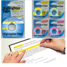 Removable Highlighter Tape Pink (Set of 2)