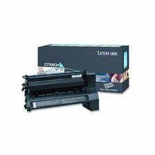 C7700CH High-Yield Toner, 10000 Page-Yield
