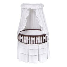 Elite Bassinet with Eyelet Bedding