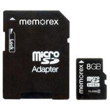 MicroSD 8GB Travel Card