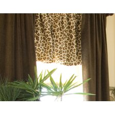 Tanzania Velvet Rod Pocket Drape Panels (Set of 2)