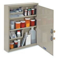 "Drug 18.1"" x 15.9"" Surface Mount Medicine Cabinet"
