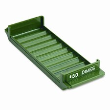 Porta-Count System Rolled Coin Plastic Storage Tray