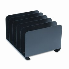 Steelmaster Desktop Vertical Organizer, Five Sections