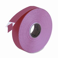 One-Line Easy-Load Pricemarker Labels, 7/16 x 7/8, Red, 2500/Card