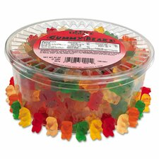Gummy Bear Candy Tub