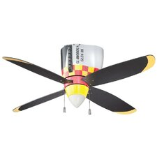 "48"" WarPlanes 4 Blade Ceiling Fan"