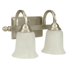 Madison  Vanity Light in Brushed Nickel