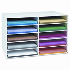Classroom Construction Paper Storage