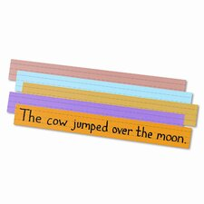 Super Bright Sentence Strips Notepad (Set of 100)
