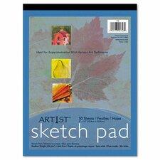 Art1St Sketch Pad, 60-Lbs, 50 Sheets/Pad (Set of 2)