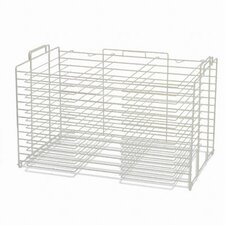 Board Storage/Drying Rack, 22w x28d, White
