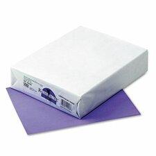 Kaleidoscope Colored Copy/Laser Paper, Violet, 24lb, Letter, 500 Sheets
