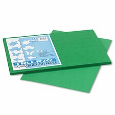 Tru-Ray Construction Paper, Sulphite, 12 x 18, Holiday Green, 50 Sheets