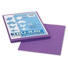 Tru-Ray Construction Paper, Sulphite, 9 x 12, Violet, 50 Sheets (Set of 3)