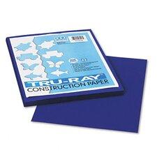 Tru-Ray Construction Paper, Sulphite, 9 x 12, Royal Blue, 50 Sheets (Set of 3)