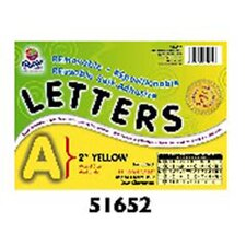 2 Self-adhesive Letters and Numbers