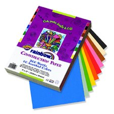 Construction Paper Assorted 9x12 200 Sheets