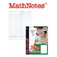 Mathnotes White 150 Ct 8.5 X 11 in (Set of 3)