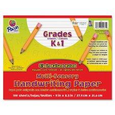 Multi-Sensory Handwriting Paper