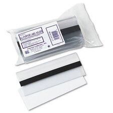 Magnetic Label Holder, Side Load, 6 X 2-1/2, 10/Pack