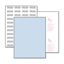 """Medical Security Paper,Advanced,8-1/2""""x11"""",500/RM,Blue"""