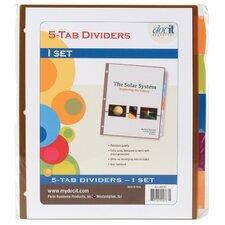 Doc It Tab Binder Index Dividers